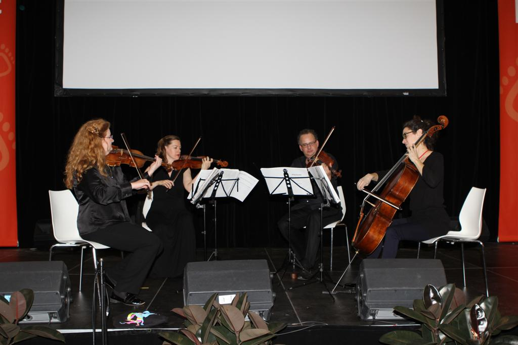 Acacia Quartet on stage at the International AIDS Conference 2014, 23 July 2014